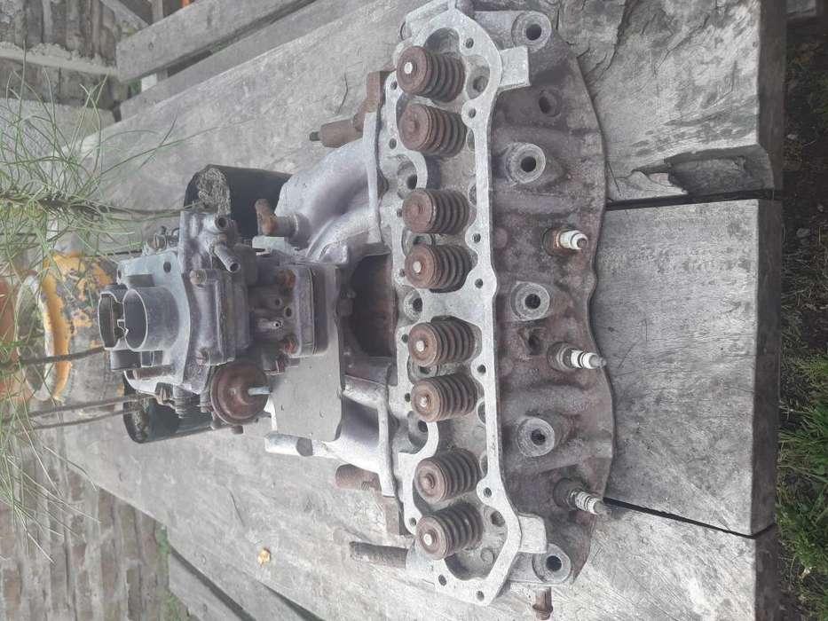 Tapa para duna 16 y carburador doble boca y multiple de cao d escape