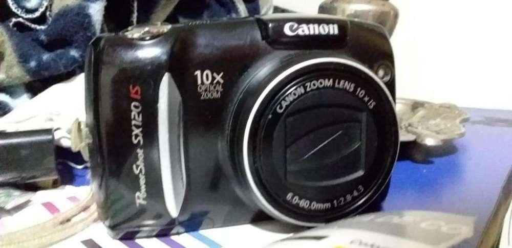 VENDO CAMARA CANNON POWER SHOT SX-120 10MPX