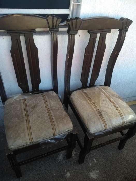 <strong>silla</strong>s para Comedor en Madera