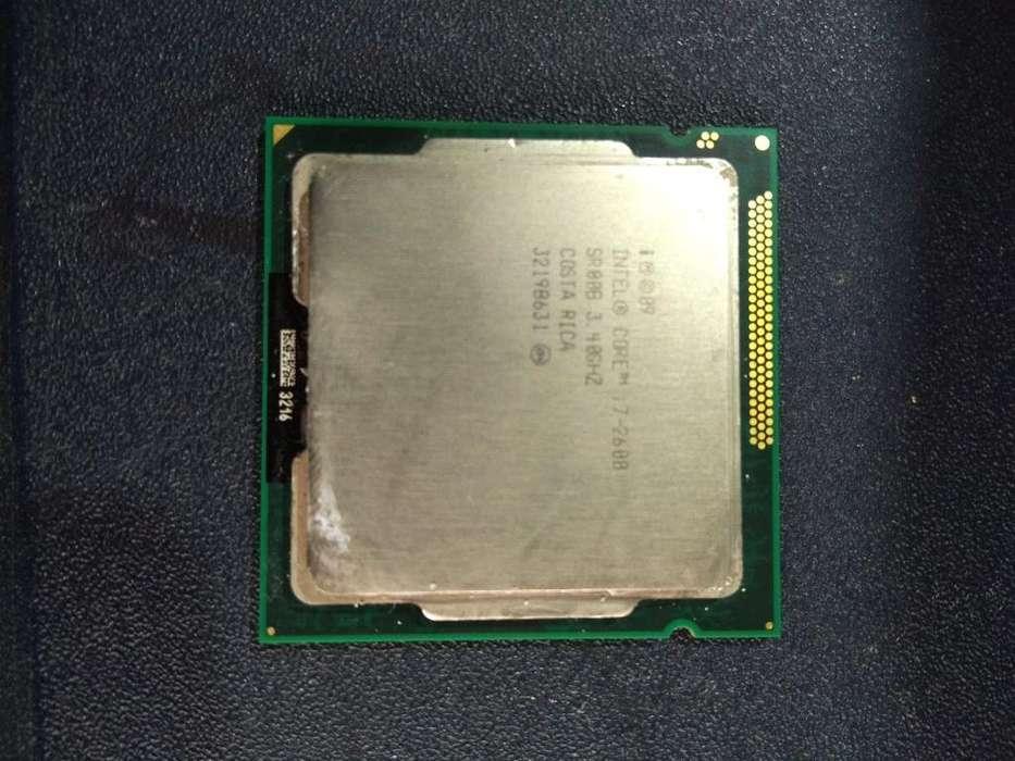 Procesador Intel I7 2da Generación