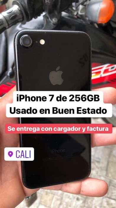 i Phone 7 de 256GB Jet Black