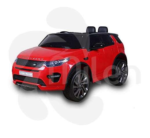 Land Rover Carrito eléctrico montable niños, control remoto, pantalla