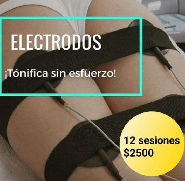Masajes electrodos
