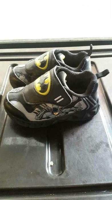Zapatos de Batman Talla 24,25