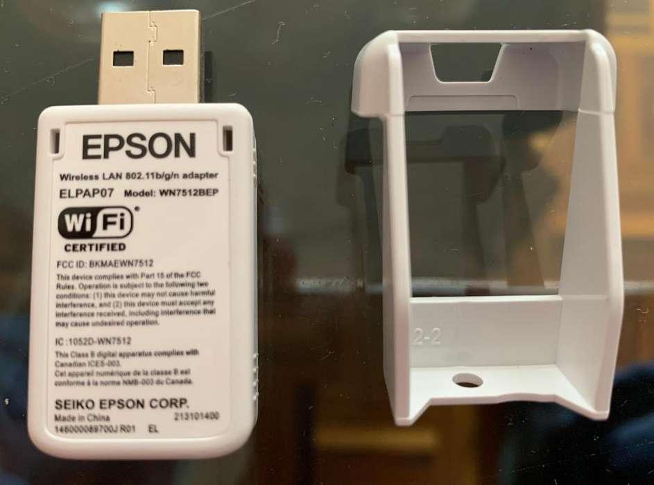 Adaptador WIFI para proyectores Epson