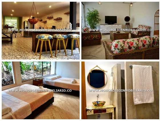 lujosa casa amoblada en medellin cod:13071