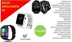 Smartwatch X6 Reloj Inteligente Envio Contraentrega