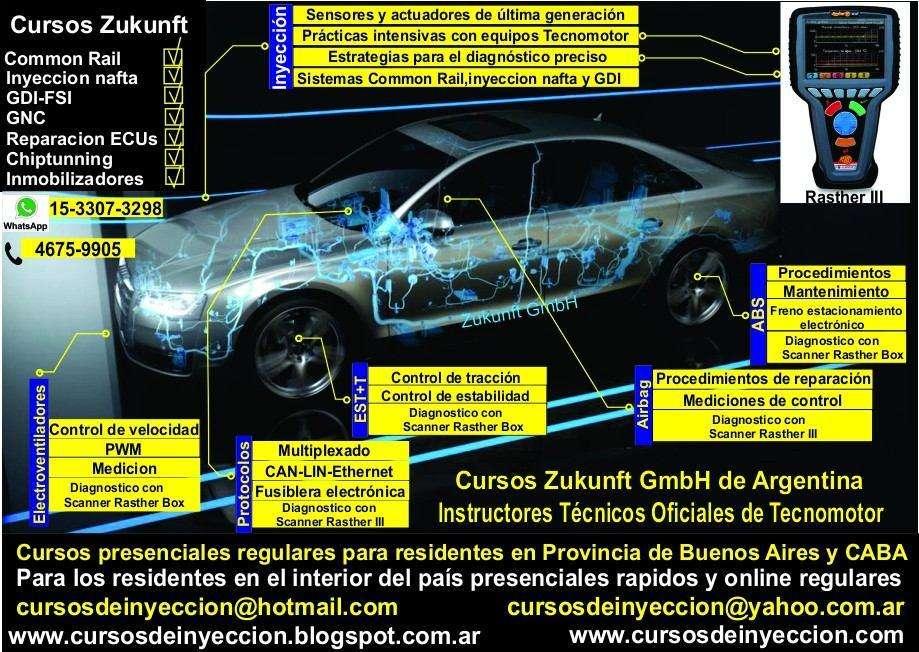 Curso de Inyeccion Electronica Berazategui Varela Quilmes 2019