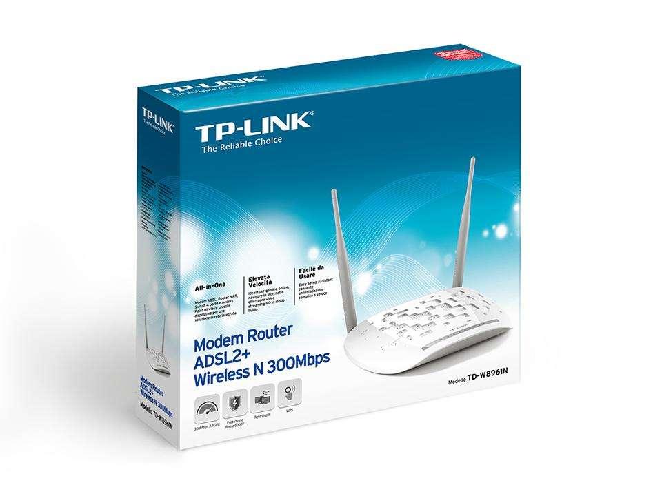 Módem Router Tp Link Tdw8961n wifi adsl
