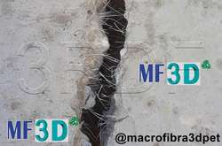 Fibras 3D PET, para complementar o reemplazar Mallas electro soldadas