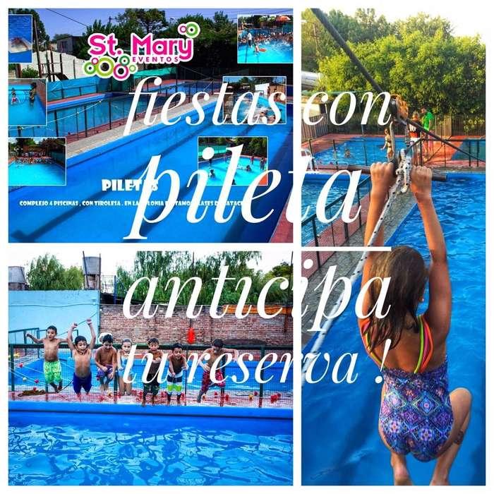 Salón Infantil con Piletas en Rosario