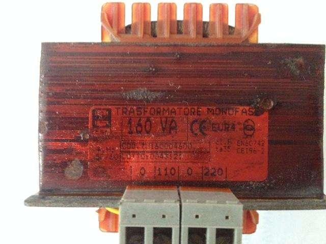 Transformador Mono fase Eléctrico Ac 110 V A 220 V. 160 vatios