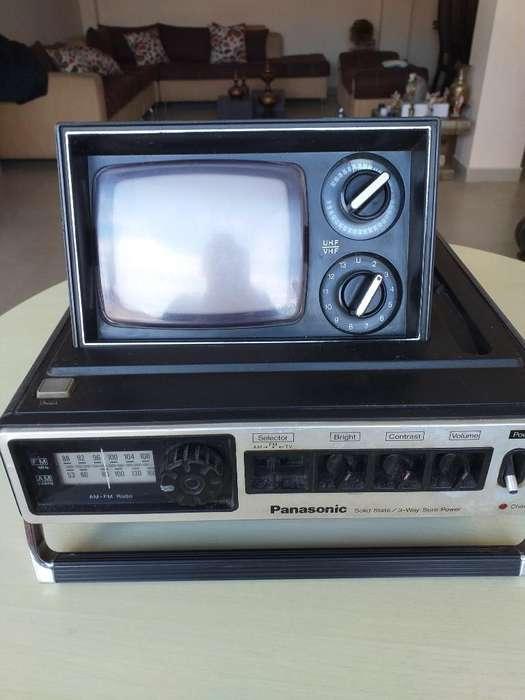 Radio Televisión Panasonic Antiguo