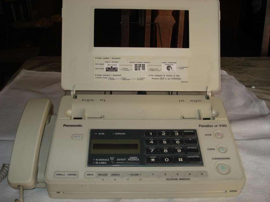 Telefono Y <strong>fax</strong> Panasonic ,excelente Estado