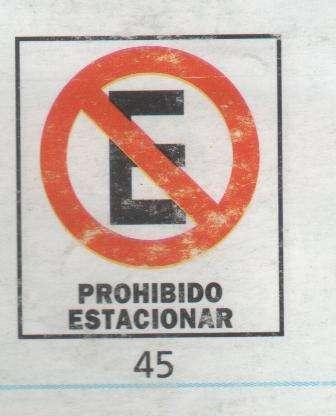 CARTELES de SEÑALIZACIÓN Grandes Corrugados 50x70 cm.