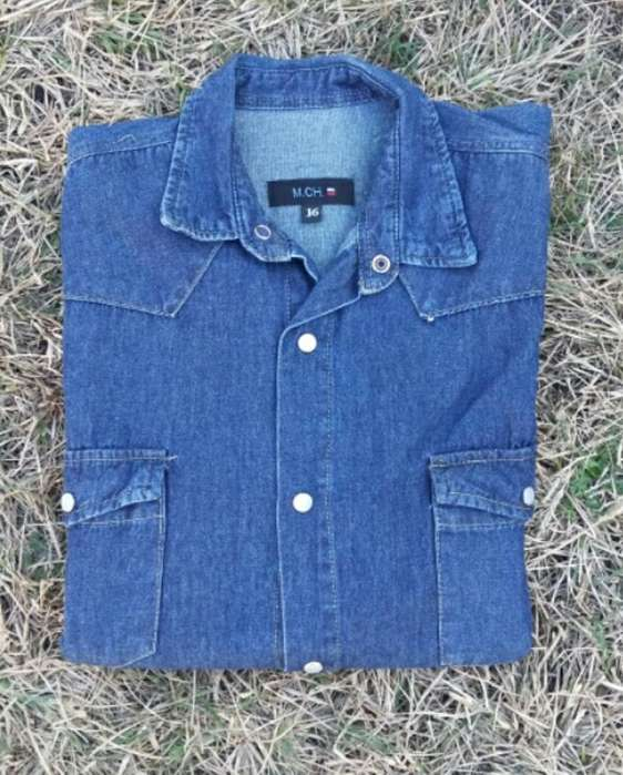 Camisa Jean Niño T16