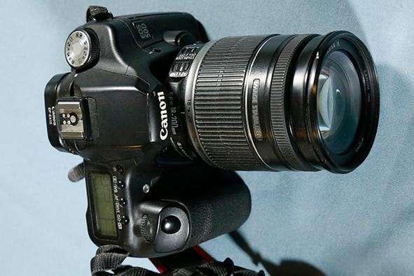 Cámara Canon 50D