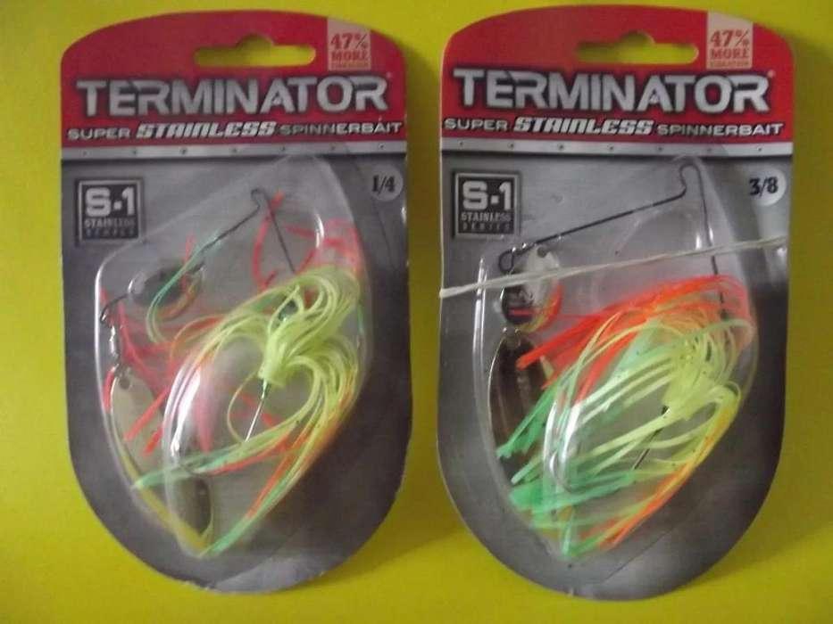 Spinnerbait Brujas Terminator Stainless 1/4 3/8 Oz