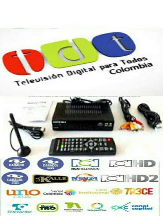 Decodificador Tdt T2 Garantia 3 Meses