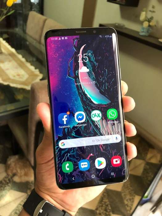 Samsung Galaxy S9 Plus 6gb 64gb 3500mah