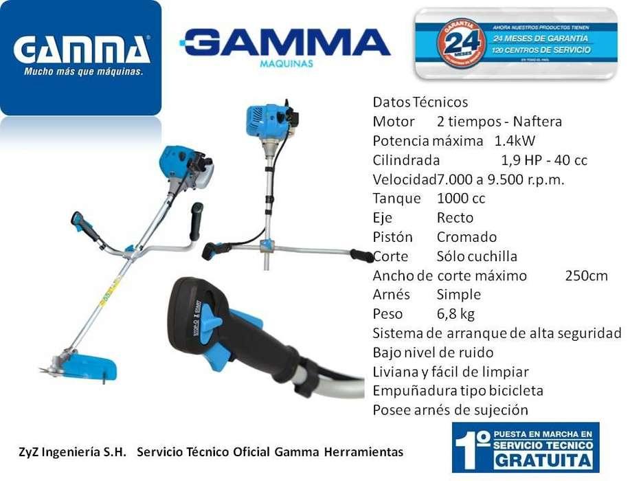 Desmalezadora Naftera Gamma 40cc G1835AR