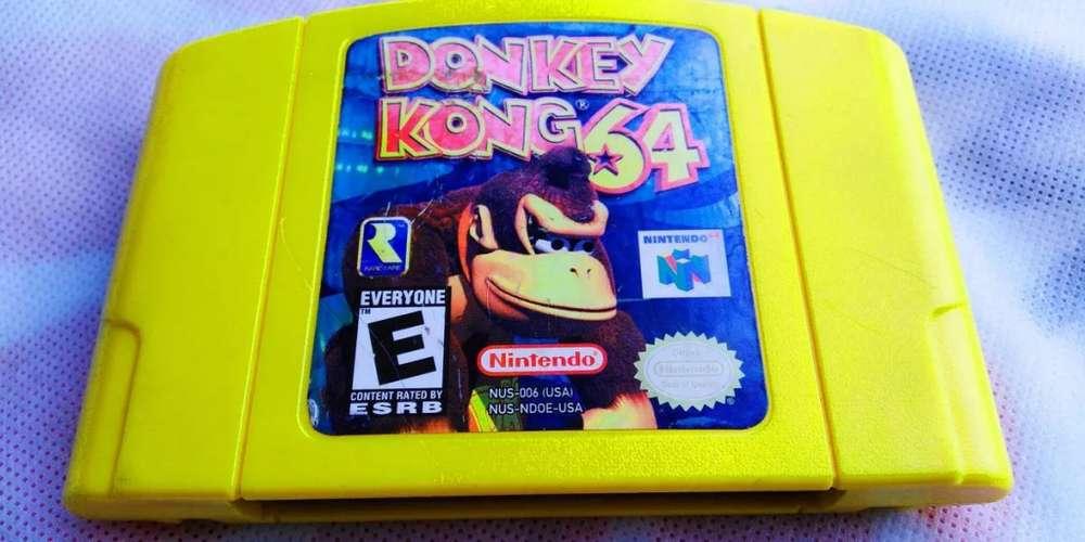 Juego Cassette Nintendo 64 Donkey Kong 64
