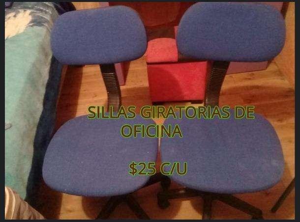 sillas giratorias para oficina