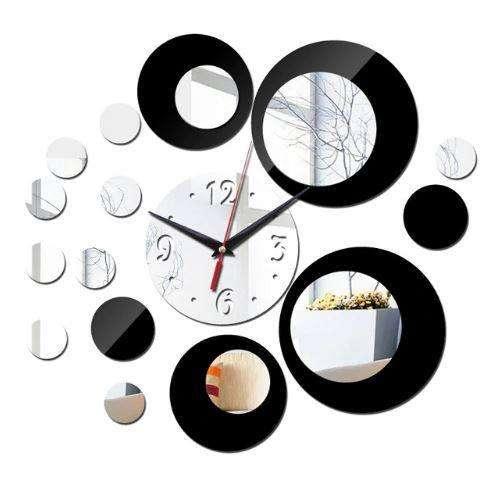 Relojes de pared en 3D, diferentes estilos 35.000