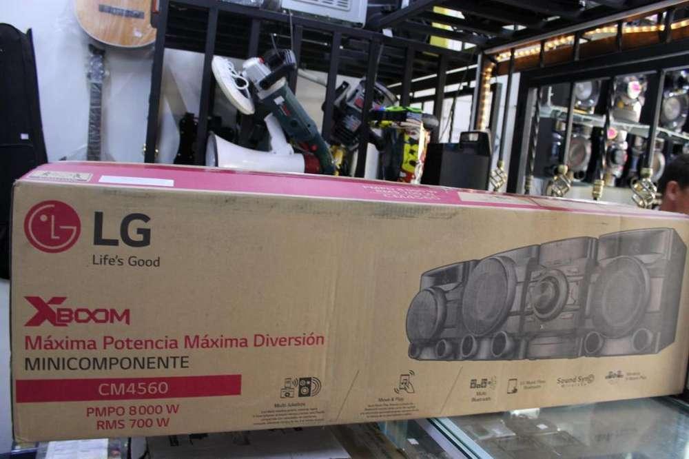 Equipo de sonido LG XBOOM CM4560 NUEVO bluetooth