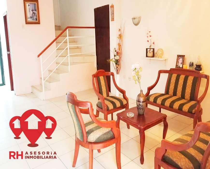 <strong>casa</strong> DE 3 DORM AMOBLADA PARA ALQUILER EN LA URB. CIUDAD VERDE, MACHALA. COD 669