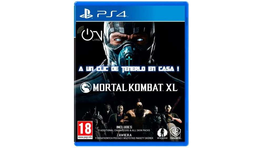 MORTAL KOMBAT XL PS4 CD FISICO