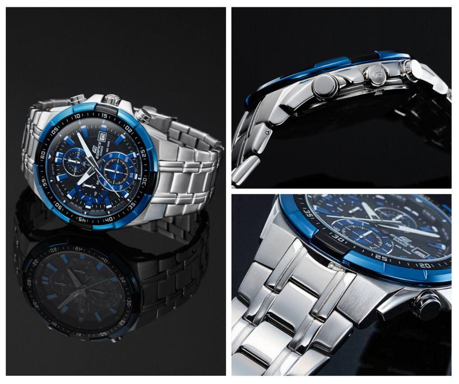 d36398247401 Reloj Casio Edifice EFR 539 Azul Nuevo en Caja Original Delivery en Lima