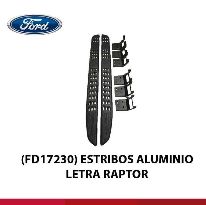 ESTRIBOS ALUMINIO TIPO RAPTOR