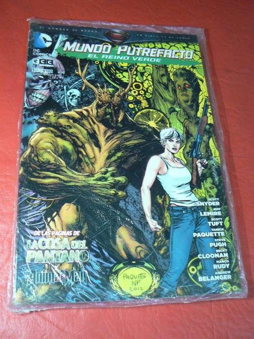 Comic Mundo Putrefacto N 1 DC Comics y ECC Sudamérica