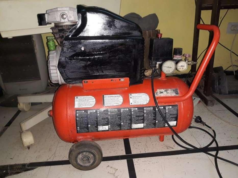 Compresor de Aire 2hp Blackdecker