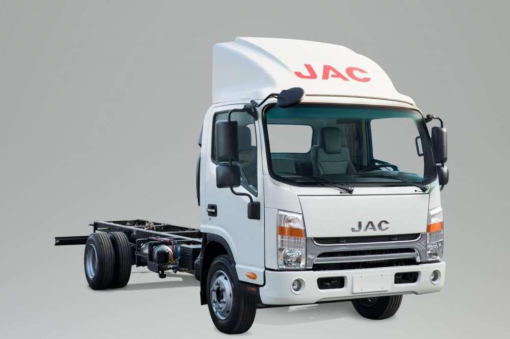 Camión JAC 6 Toneladas con Chasis Cabina VIP Euro 4 Serie N - SD500 N CHC E4
