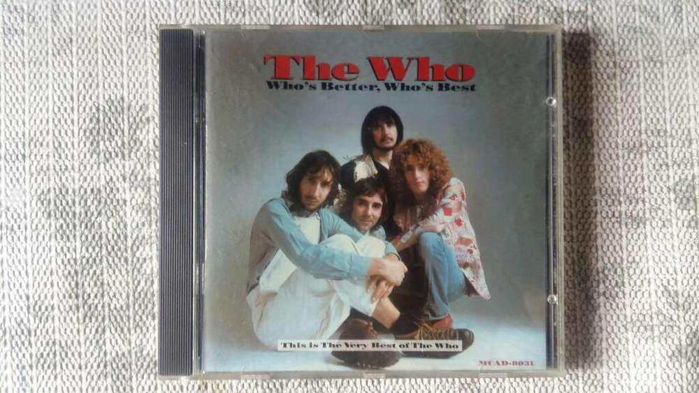 Cd The Who - Whos Better, Whos Best