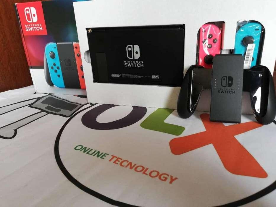 Mega Sale Liquidacion Nintendo Switch Neón Blue And Red . Nueva Y Sellada