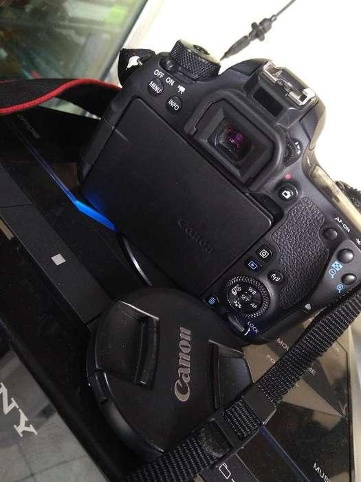 Vendo Camara <strong>canon</strong> 77d Lente Ef 18 135mm