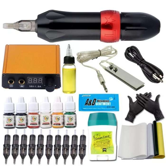Tattoo Kit de Tatuajes Importado
