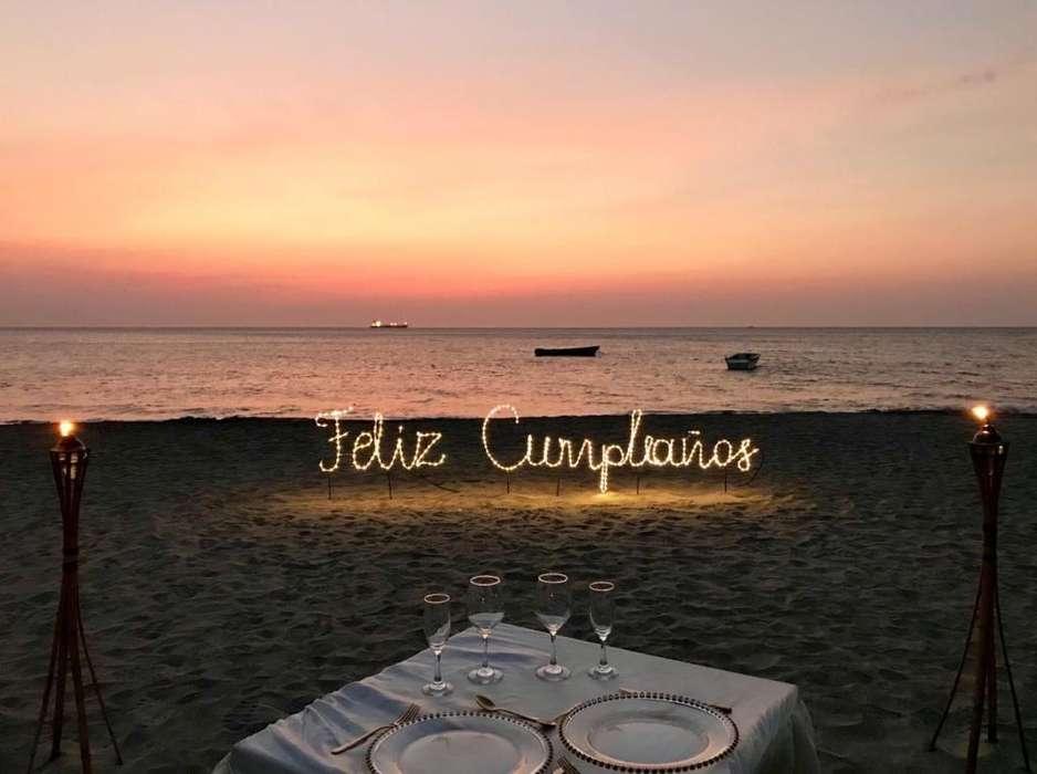 Cena de Cumpleaños Frente Al Mar