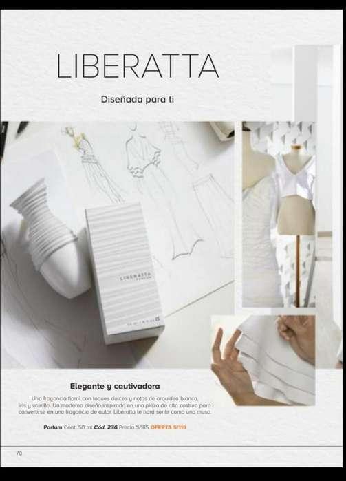 Unique- Perfume LIBERATTA Para Mujer Fragancia Femenina