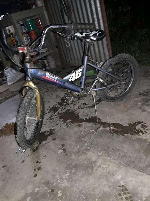 Vendo Bici para Nene Rodado 16