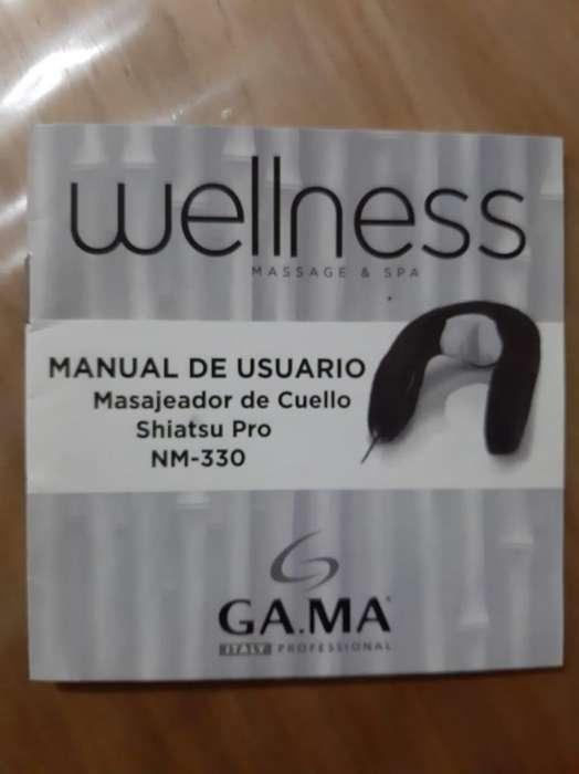 vendo masajeador de cuello sin uso