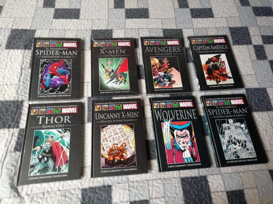 Novelas Gráficas Marvel 8 Tomos