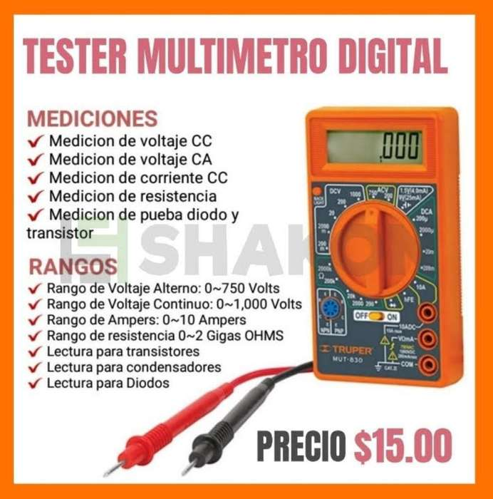 Tester Multimetro Digital