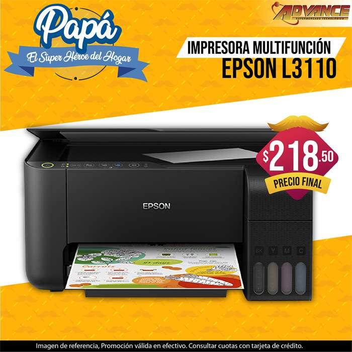 Impresora EPSON Multifunción L3110 oferta