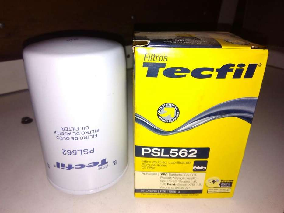 Filtro De Aceite Tecfil Psl562 mann W 719/5 Gol Golf