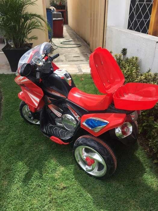 Vendo Moto de Juguete Electrica