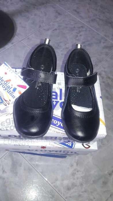 Zapato Colegio T 29 Unico Par 35mil